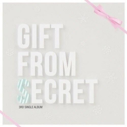 LOT of 4 SECRET Official Photocard 3th Single GIFT FROM SECRET Full Set