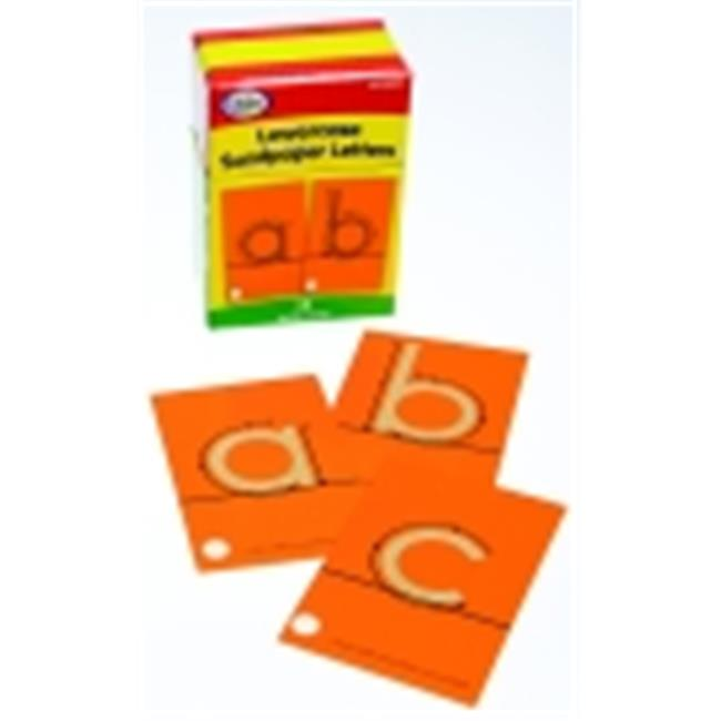 Didax Lowercase Tactile Sandpaper Letter, Set - 28