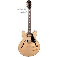 Luna Athena Semi-Hollowbody - Natural