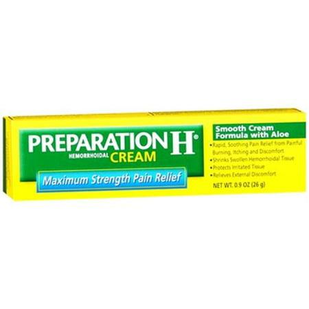 Preparation H Cream 0.90 oz (Pack of 3)
