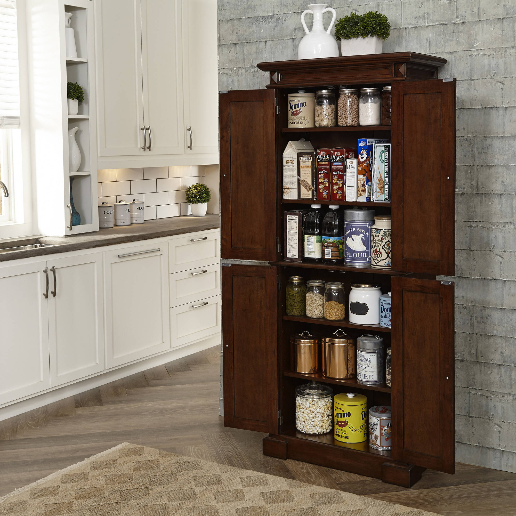 in kitchen storage cabinets full plans cabinet counter of large organizers canisters built pantry size