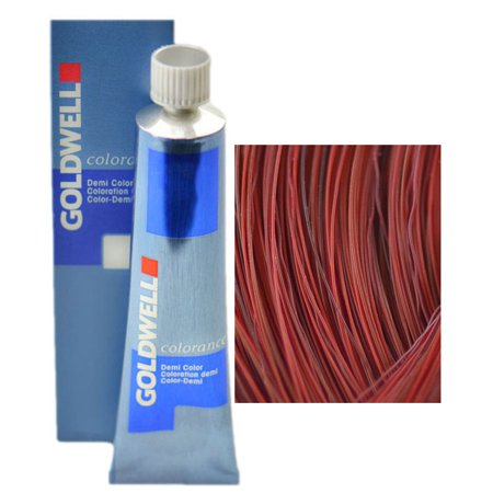 Goldwell Colorance Demi Color Acid Semi-Permanent Hair Color Coloration (2.1 oz. tube) (Color : 7RR Max - Luscious Red) ()