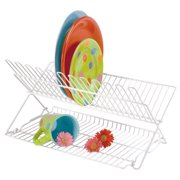 Folding Dish Rack  - White