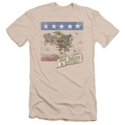 Men's Baxter's Cover Slim Fit T-shirt Cream
