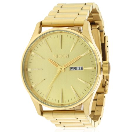Click here for Mens Nixon The Sentry SS Watch In All Gold prices