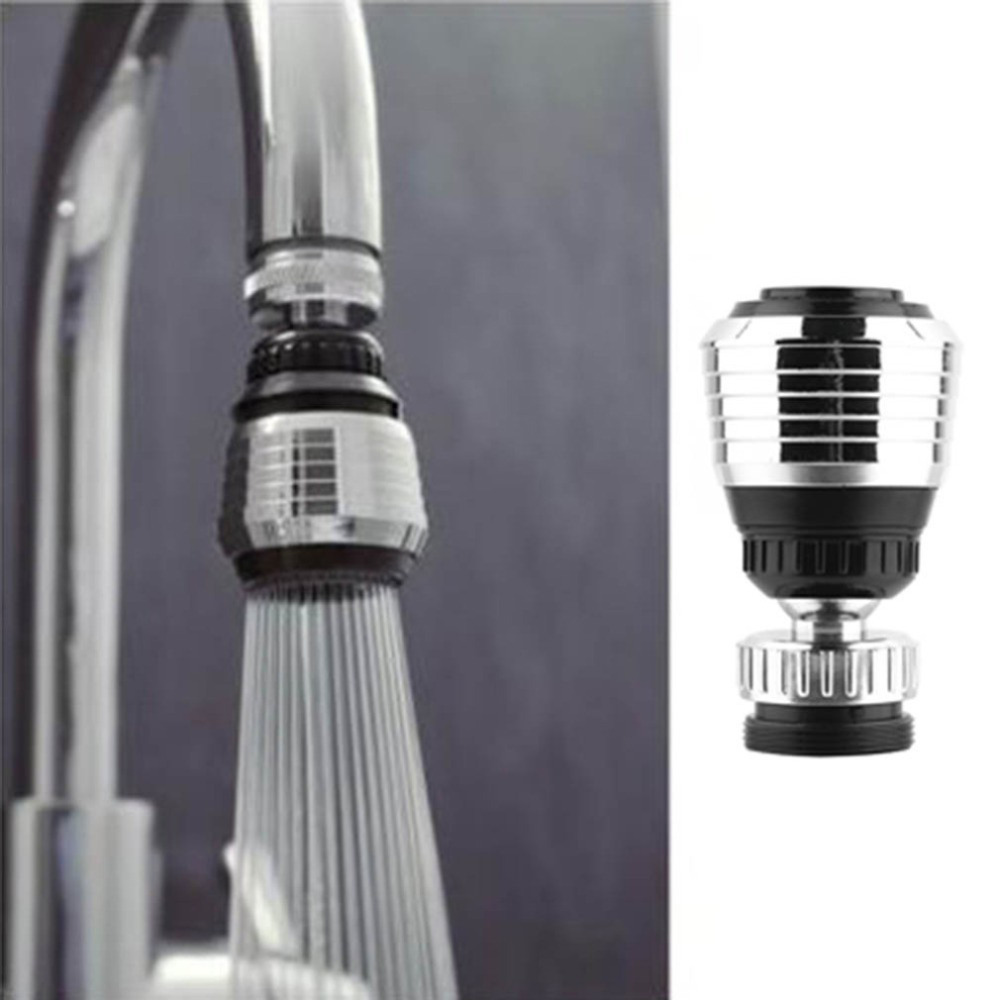 kitchen water faucet copper sink water faucet tip swivel nozzle adapter kitchen aerator tap chrome connector