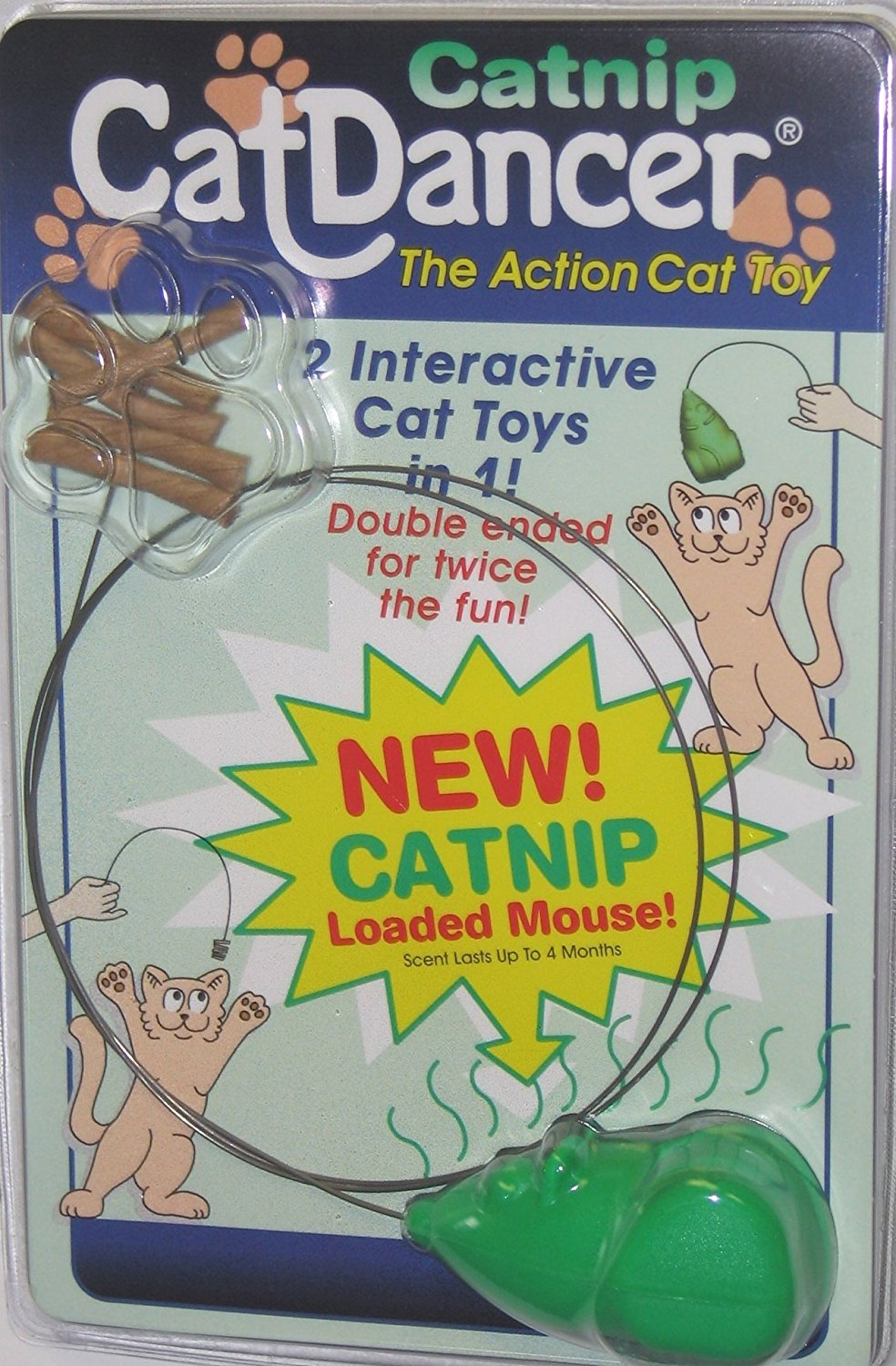 Cat Dancer 601 Catnip Cat Dancer Interactive Cat Toy, Made in the USA Ship from US..., By Cat Dancer Products by