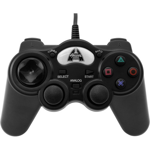 Arsenal Gaming Ps 2 Wired Programmable Controller, Black