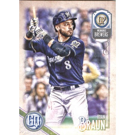 2018 Topps Gypsy Queen 246 Ryan Braun Milwaukee Brewers Baseball Card Gotbaseballcards