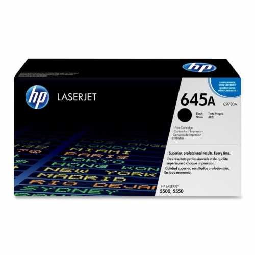 HP 645A (C9730A) Black Original LaserJet Toner Cartridge