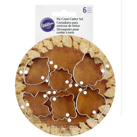 Mini Pie Cutters (Wilton Fall Pie Crust Cutter Set,)