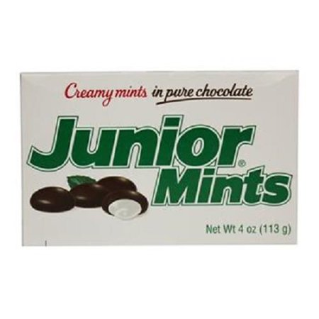Product Of Junior Mints, Creamy Mints In Chocolate, Count 1 (3.5 oz) - Sugar Candy / Grab Varieties & Flavors