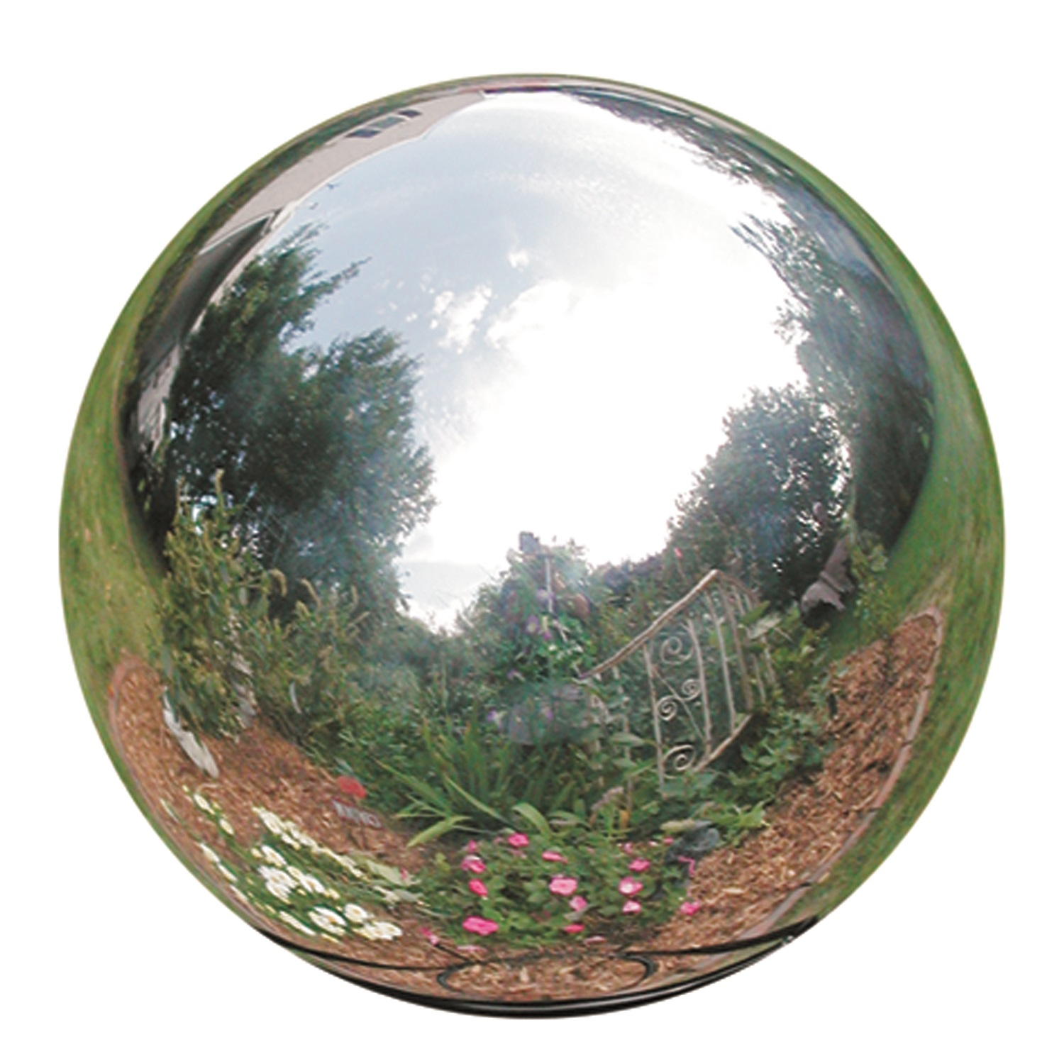 "12"" Stainless Steel Gazing Globe"
