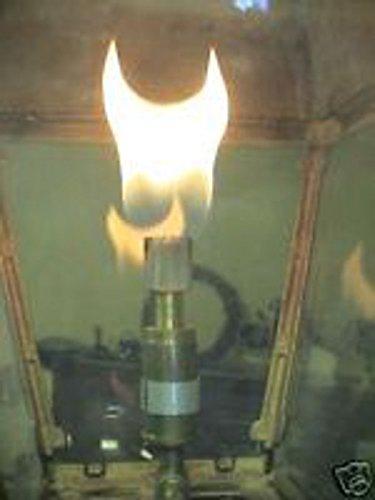 MHP Everglow Gas Light Brass Open Flame Burner Propane Brass Burner OFBBR-P