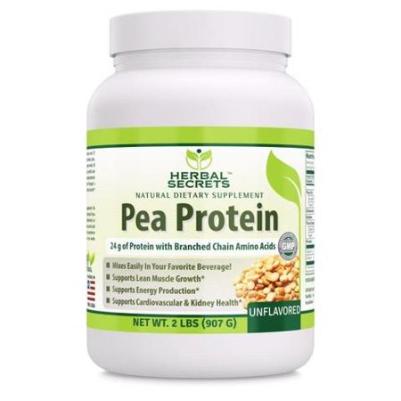 Herbal Secrets Pea Protein (Unflavored) - 2 Lbs