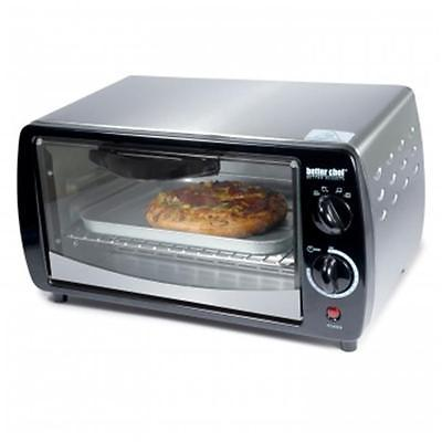 BETTER CHEF IM-269SB Large Capacity 9-liter Toaster Oven Silver Brand New Kitchen Product by