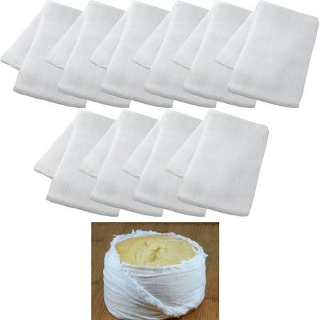 10 Sq Yard Cheesecloth White Gauze Fabric Kitchen Cheese Cloth Bleach Cotton