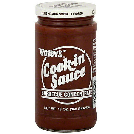 Woody's Pure Hickory Smoke Flavor Sauce, 13 oz (Pack of 6) (Smoker Flavor)