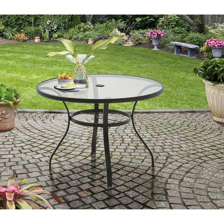 heritage brands furniture dining set big. Mainstays Heritage Park Round Dining Table, Brown Brands Furniture Set Big