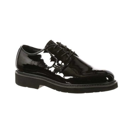 Four Crown Oxford - Rocky Mens Fq00510-84M Black Dress Oxfords Size 4