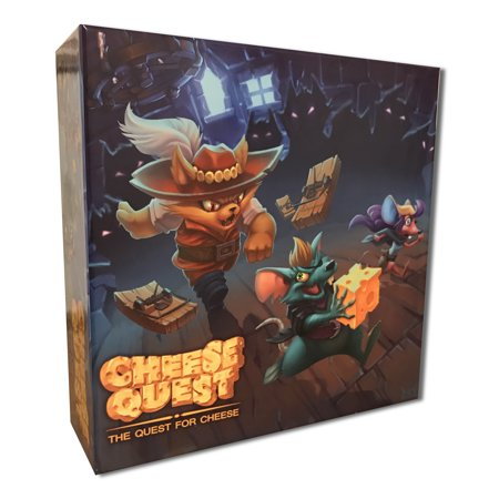 Cheese Quest: The Quest for Cheese Board (Quest Board Game)