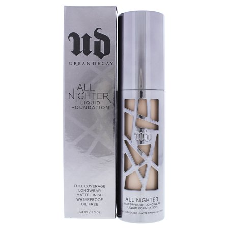 All Nighter Liquid Foundation - 1.5 Fair Bisque by Urban Decay for Women - 1 oz Foundation