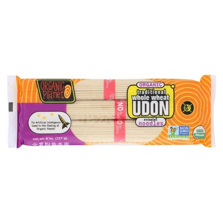 Organic Planet Traditional Whole Wheat Udon Oriental Noodles - Pack of 12 - 8 Oz.](Oriental Noodles)