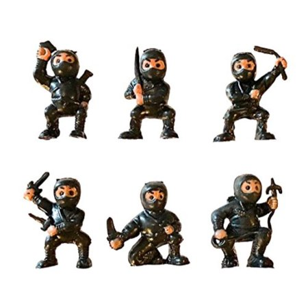 Karate Fighter (fb 18 Black Mini Karate Ninjas Warriors Fighters Figures Cupcake Cake Toppers Ninja Kung Fu Guys Martial Arts Men Lot Party Favo)