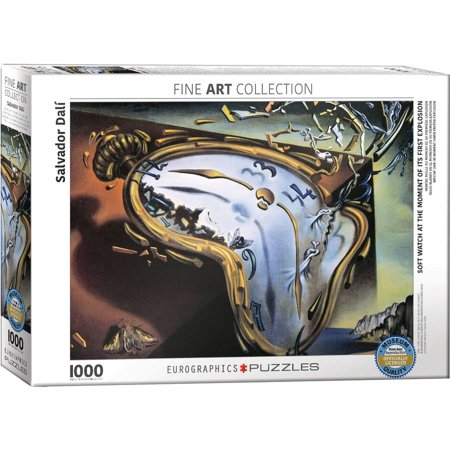 Salvador Dali Soft Watch at Moment of First Explosion 1000-Piece Puzzle