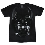 Star Wars Mens T-Shirt - Giant Darth Vader Realistic Face Image