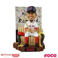 Mookie Betts Boston Red Sox Stranger Things Alphabet Wall Bobblehead