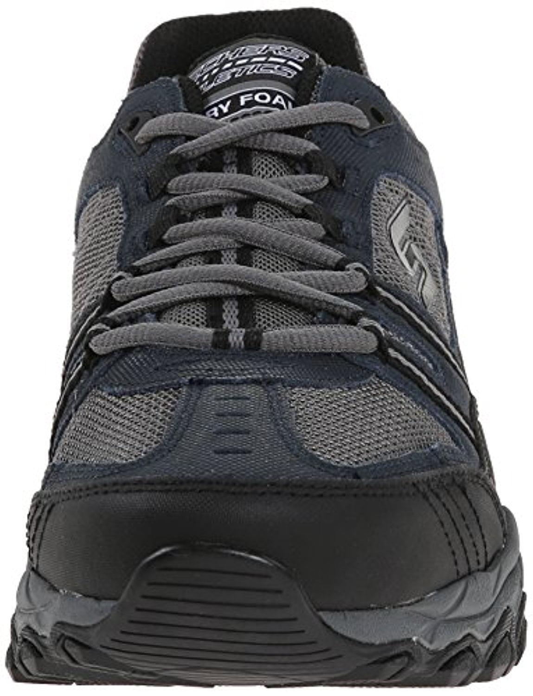 50124 Navy EWW 4E Wide Width Skechers Shoes Men New Memory Foam Sport Train Fit