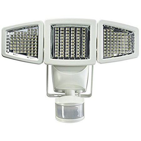 Sunforce Solar Triple Head Motion Activated Security Light 1500 Lumens - NEW ()