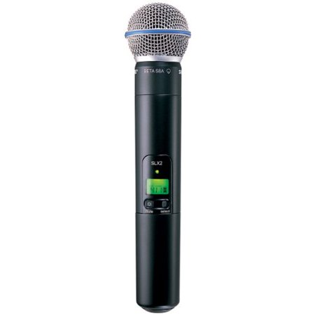 Shure SLX2/Beta58 Wireless Handheld Transmitter Microphone H5