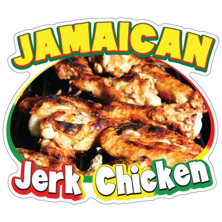 Jamaican Jerk Chicken  Decal Concession Stand Food Truck