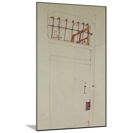 Egon Schiele Artwork - The Door into the Open, 1912 Wood Mounted Print Wall Art By Egon Schiele