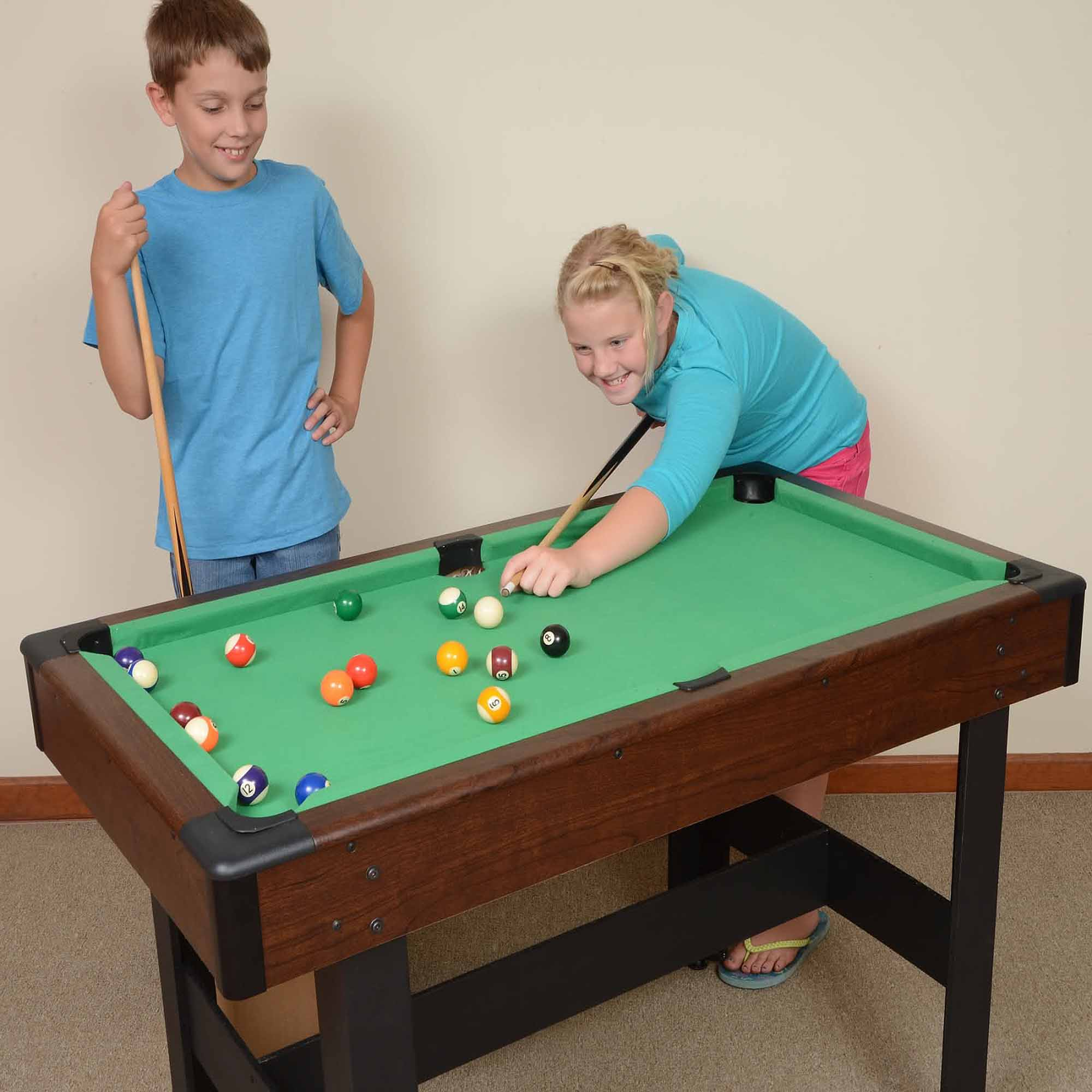 "Voit Billiards 48"" Pool Table With Accessories"