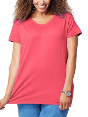 a8fe7972ee027 Product Image Just My Size Women s Plus-Size Short Sleeve Tee