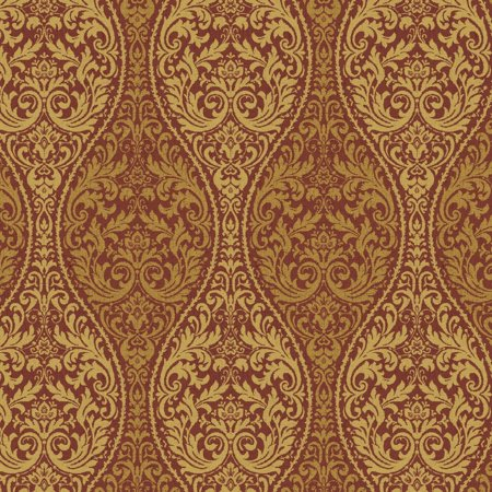 """Waverly Inspirations Cotton Duck 54"""" Paisley Red Fabric, per Yard"""