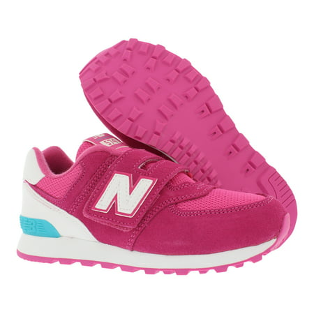 New Balance 574 High Visibility Preschool Athletic Girl's Shoes