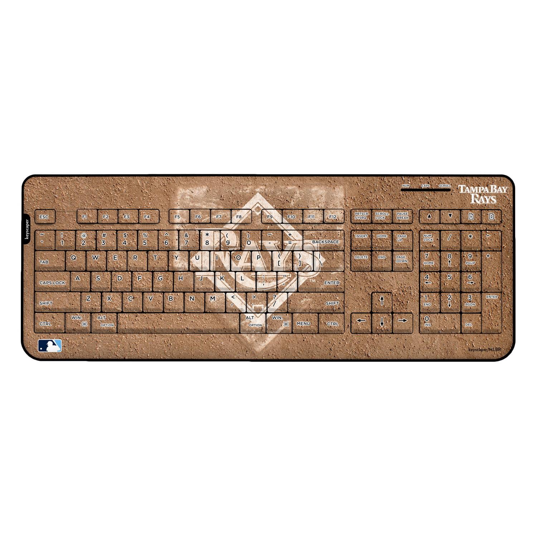 Tampa Bay Rays Wireless USB Keyboard MLB