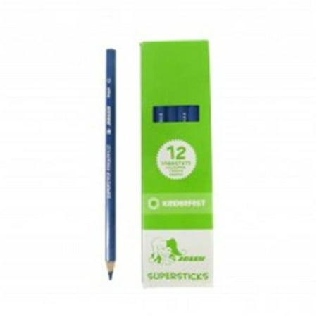 Navy Pencil - American Educational A-3000-0256 Supersticks Colored Pencil, Dark Blue - 12 per Box