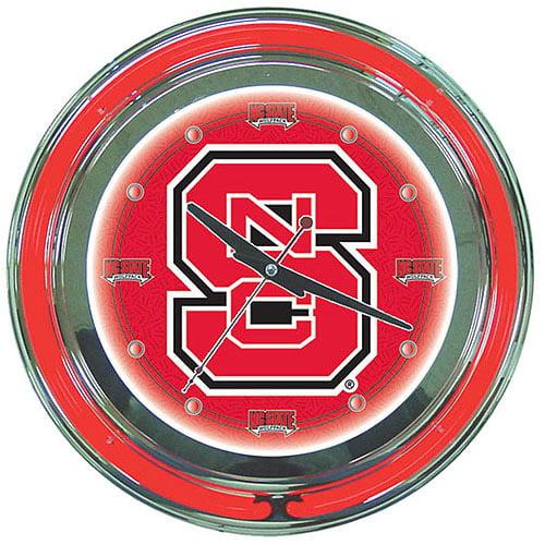 "North Carolina State 14"" Neon Wall Clock"