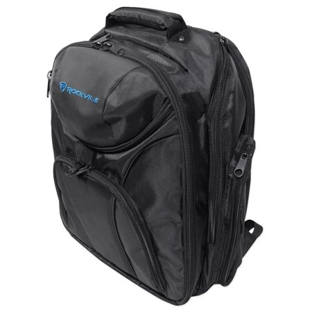 Rockville Backpack Bag For Native Instruments Traktor Kontrol F1 DJ (Best Cdj For Traktor)