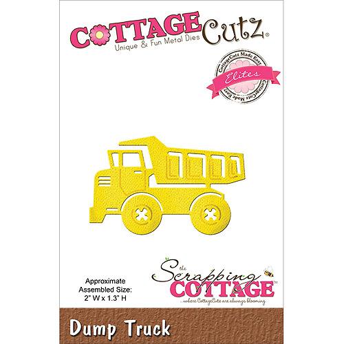 CottageCutz Elites Die, Dump Truck