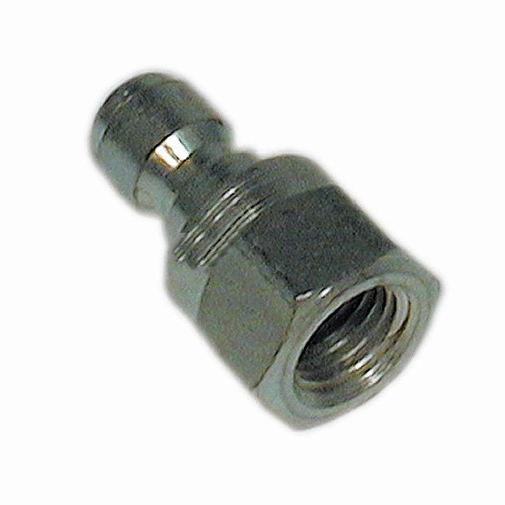 "Quick Coupler Plug Male 4000 PSI Male 3//8/"" Pl Steel"