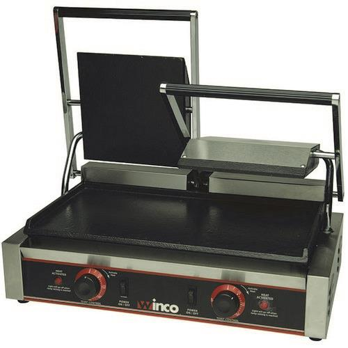 Winco - ESG-2 - 19 in Double Sandwich Grill