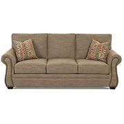 KlaussnerFurniture 012013199749 Classic Sofa In Camel
