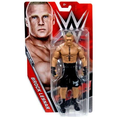 WWE Wrestling Series 68 Brock Lesnar Action (Kurt Angle Vs Brock Lesnar Iron Man)