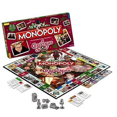 USAopoly monopoly: a christmas story collector's edition
